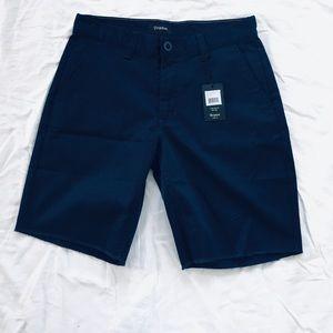 Brixton Toil II Navy Blue Chino Shorts